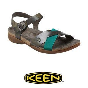 Keen Dauntless Burnt Olive Ankle Sandals NIB